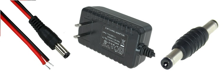 DC Power Cables and Adapters