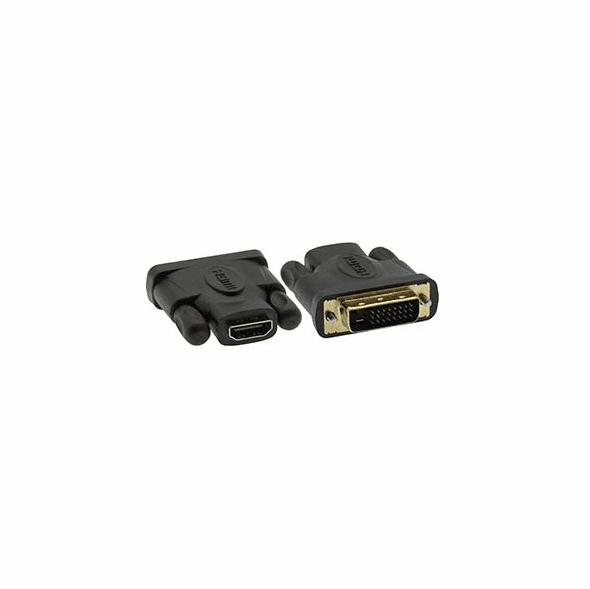 HDMI Female - DVI-D Male Adapter, Gold Plated