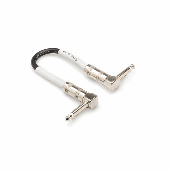 HOSA CPE-106 Guitar Patch Cable, Right Angle to Right Angle, 6 inch