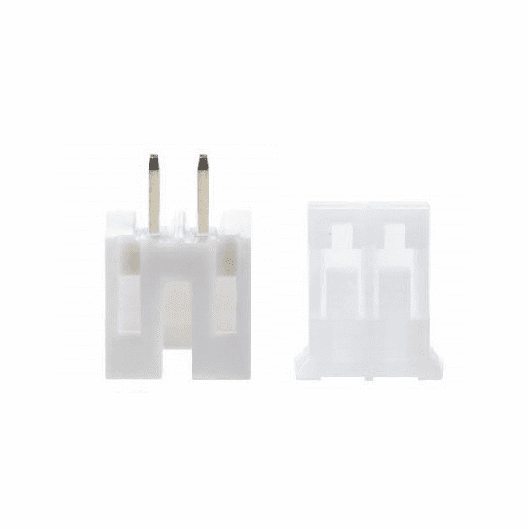 JST-PHR 2.0mm 2 Pin Connector Kit, Male/Female with Pins - 5 Pack