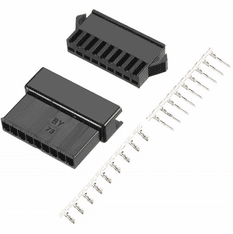 JST-SM 9 Pin 2.5mm Pitch Male and Female Plug Housing with Pins - 2 Sets
