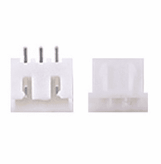JST-XHP 2.5mm 3 Pin Connector Kit, Male/Female with Pins - 5 Pack