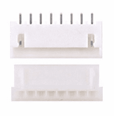 JST-XHP 2.5mm 8 Pin Connector Kit, Male/Female with Pins - 5 Pack