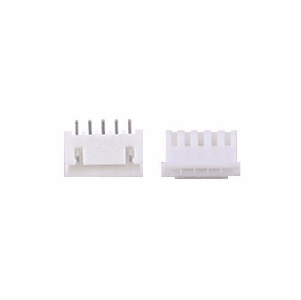 JST-XHP 2.5mm 5 Pin Connector Kit, Male/Female with Pins - 5 Pack