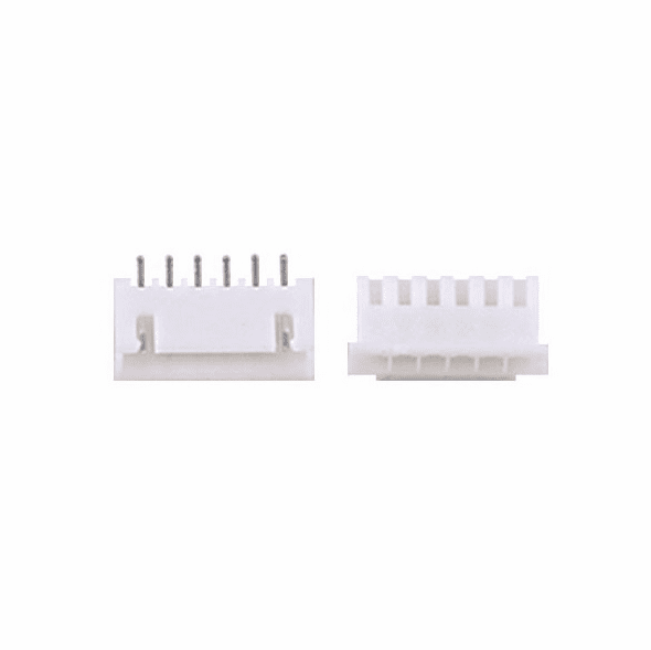 JST-XHP 2.5mm 6 Pin Connector Kit, Male/Female with Pins - 5 Pack