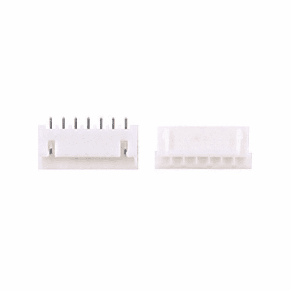 JST-XHP 2.5mm 7 Pin Connector Kit, Male/Female with Pins - 5 Pack