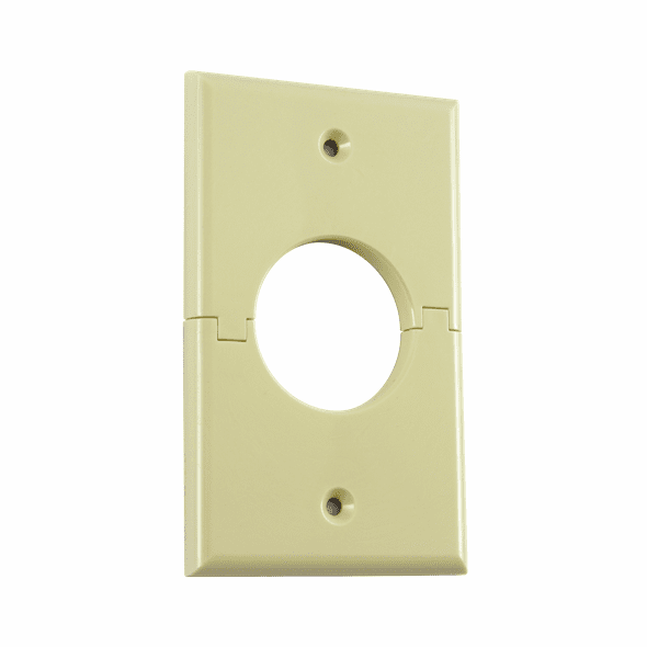 MIDLITE 1GSAL Single Gang Splitport™ (Light Almond)