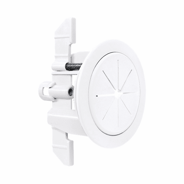 """Midlite Speedport™ Universal Cable Pass Through & Anchor System (2 3/8"""", White)"""