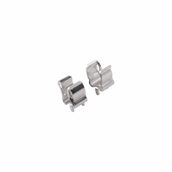 NTE 74-FC10 Fuse Clip-double Fluted For 10 X 38mm Fuse PC Mount 25A 1kv AC/dc 5 Pack