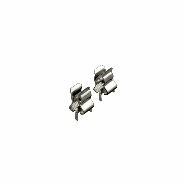 NTE 74-FC5 Fuse Clip-double Fluted For 5 X 20mm Fuse 5a 250vac 5 Pack
