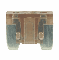NTE 74-LPM-7.5A Fuse Automotive 7.5A Low Profile Mini, Brown 5 Pack