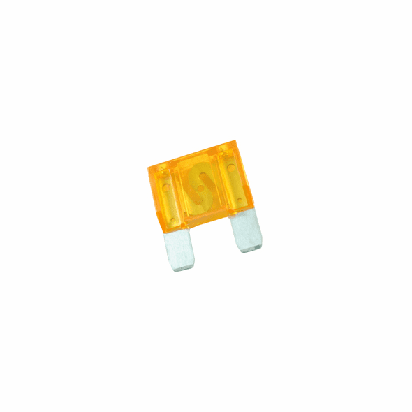 NTE 74-XAF40A Fuse-automotive Max Equivalent Blade Type 40amp 42vdc Orange Color Fast Acting 2 Pack