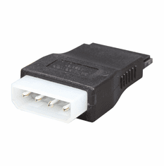 OKGEAR GC415 SATA 15 Pin Female to Molex 4 Pin Male Adapter