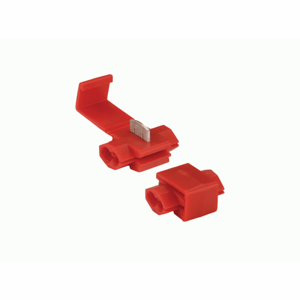 Red Instant Tap Connector 22-18 Gauge - Package of 10