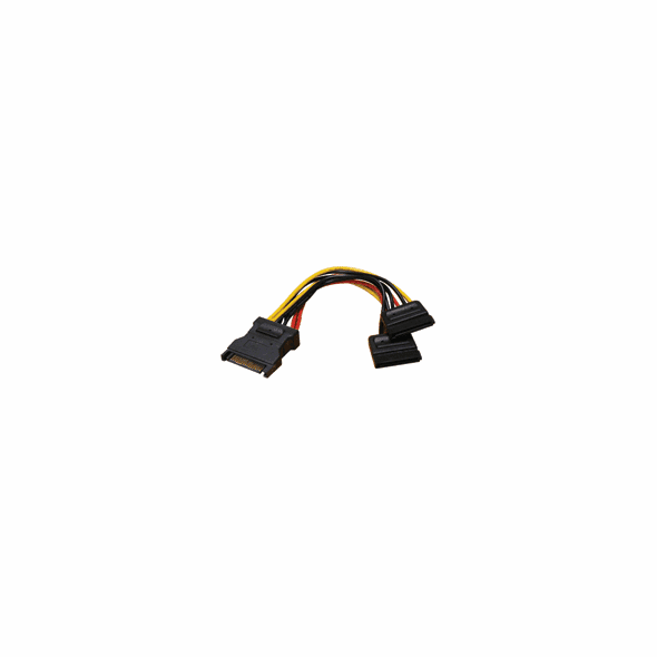 SATA Power Y Splitter, 1 Input, 2 Output