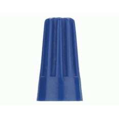 Screw on Connector Blue 22-14 Gauge - Package of 10