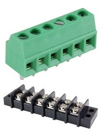 Terminal blocks and barrier strips
