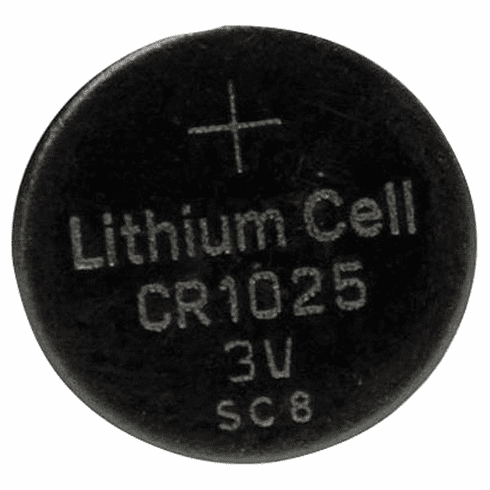 UL1025 CR1025 Lithium Coin Cell Battery