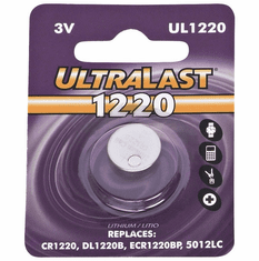 UL1220 CR1220 Lithium Coin Cell Battery