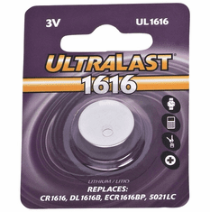 UL1616 CR1616 Lithium Coin Cell Battery
