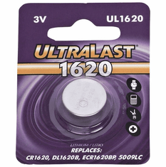 UL1620 CR1620 Lithium Coin Cell Battery
