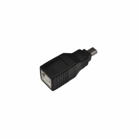 USB Type B Female to Mini 5 Pin Male
