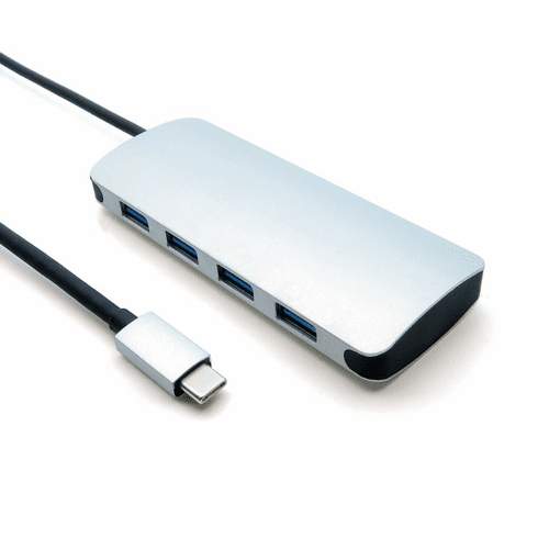 USB Type C Male to USB3.0 4 Port Hub