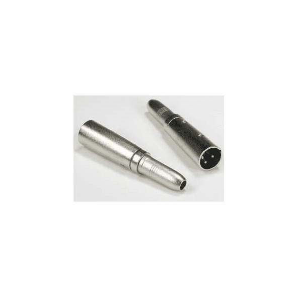 """XLR 3P Male to 1/4"""" Stereo Jack Adapter"""