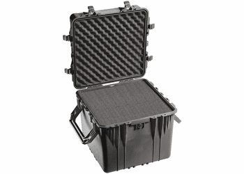 Pelican 0350 Cube Case With Foam - 0350-BLACK