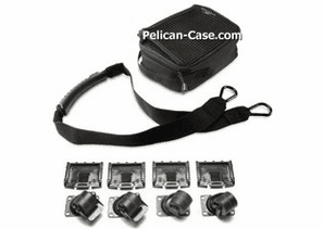 Pelican 0357 Cube Case Mobility Package - 4 Wheels & Strap For 0350 & 0370