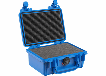 "Pelican 1120 Case with Foam - Blue <font color=""red"">300 MOQ"