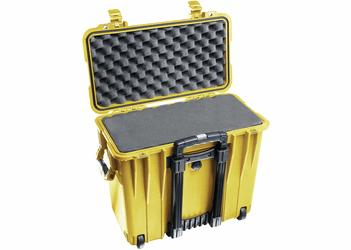 Pelican 1440 Case With Foam YELLOW I.D. 17.1x7.5x16
