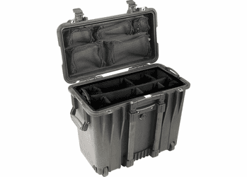 Pelican 1440 Case With Utility Padded Divider Set BLACK