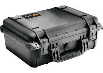 Pelican 1450NF Case Without Foam (1450) BLACK