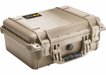 Pelican 1450NF Case Without Foam (1450) TAN