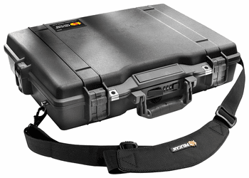 Pelican 1495 Case No Foam BLACK I.D. 18.9x13.1x3.8