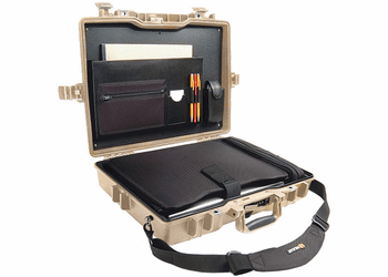 Pelican 1495CC#1 Computer Case with Padded Sleeve - TAN