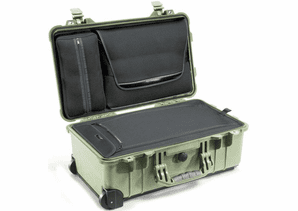 Pelican 1510LOC Laptop Overnight Carry-On Case - Olive Drab Green