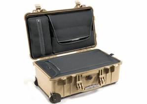 Pelican 1510LOC Laptop Overnight Carry-On Case - TAN