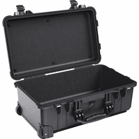 Pelican 1510NF Case With No Foam-BLACK