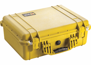 Pelican 1520NF Case Without Foam - YELLOW