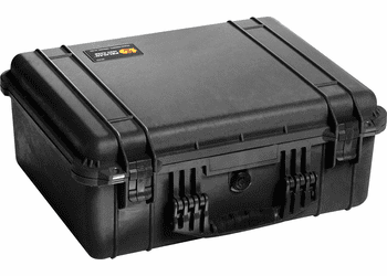 Pelican 1550NF Case Without Foam (1550) - BLACK