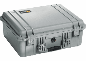 Pelican 1550NF Case Without Foam (1550) - SILVER