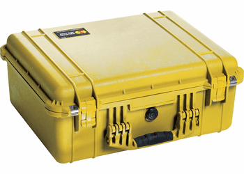 Pelican 1550NF Case Without Foam (1550) - YELLOW