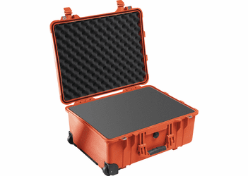 Pelican 1560 Case With wheels - ORANGE