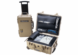 Pelican 1560LOC Laptop Overnight Case in Tan - 1560-TAN