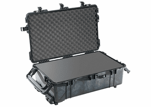 Pelican 1670 Case with Foam - Black - 1670-BLACK