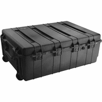 Pelican 1730 Weapons Case BLACK No Foam