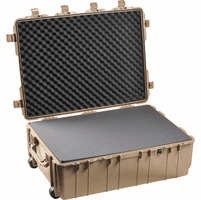 Pelican 1730 Weapons Case TAN With Foam