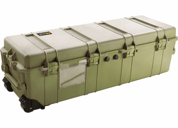 Pelican 1740 OD GREEN Case Without Foam - 1740NF-OD Green